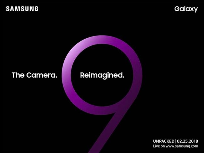Invitación Samsung Galaxy S9 y S9+ 25 de febrero