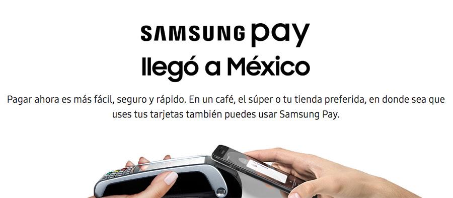 Samsung Pay México sistema de pago móvil