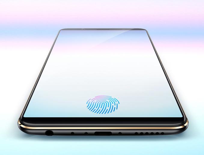 Vivo X20 Plus UD lector de huellas bajo pantalla