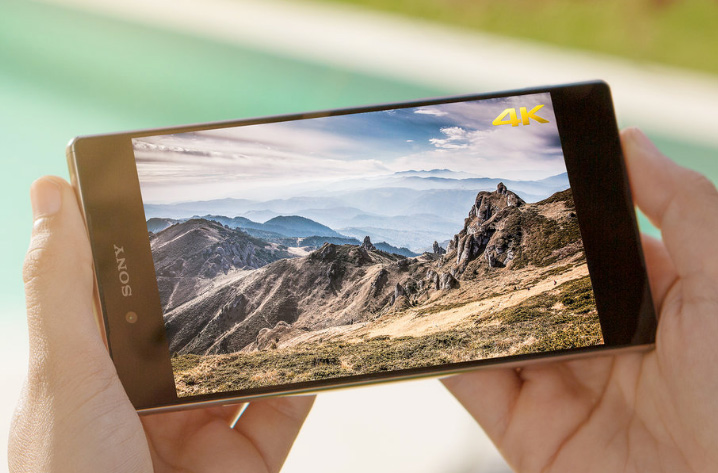 Sony Xperia Z5 Premium con pantalla 4K el primero del mundo