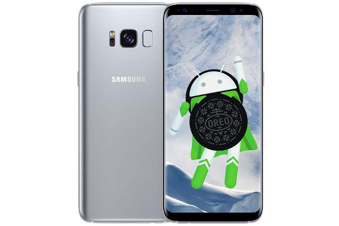 Android 8.0 Oreo para el Galaxy S8