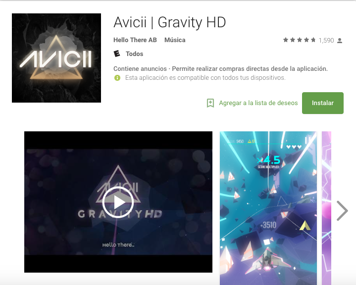 Avicci Gravity HD