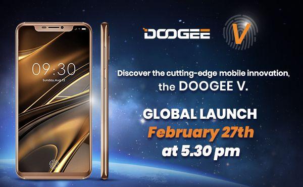 Doogee V lanzamiento