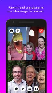 Facebook Messenger Kids app en Android