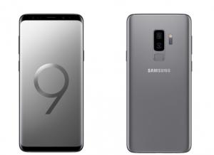 Galaxy S9+ gris