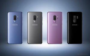 Galaxy S9+ teléfonos