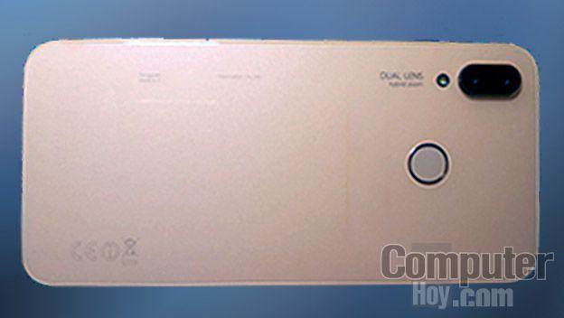Huawei P20 Lite atrás