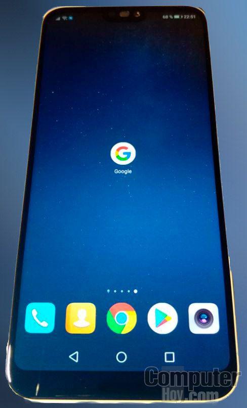 Huawei P20 Lite frente