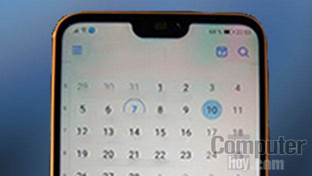 Huawei P20 Lite similitud iPhone X