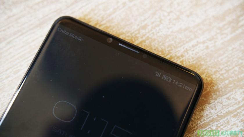 Huawei P20 prototipo pantalla