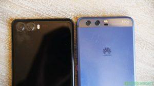 Huawei P20 prototipo posterior