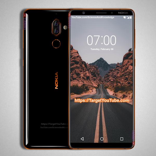 Nokia 7 Plus delante y detrás