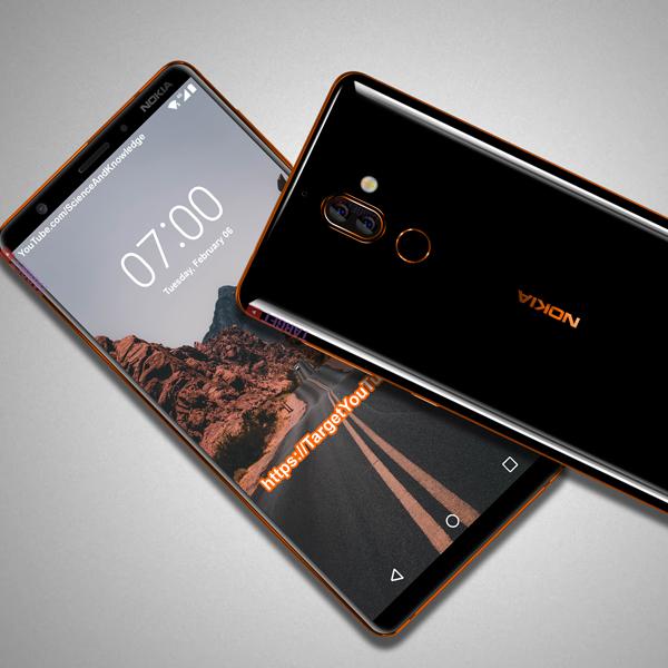 Nokia 7 Plus sin marcos