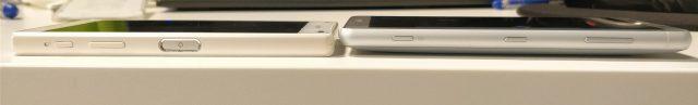Xperia Z5 Compact junto a Xperia XZ2 Compact