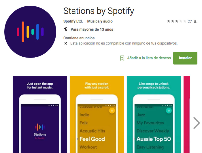 Stations de Spotify