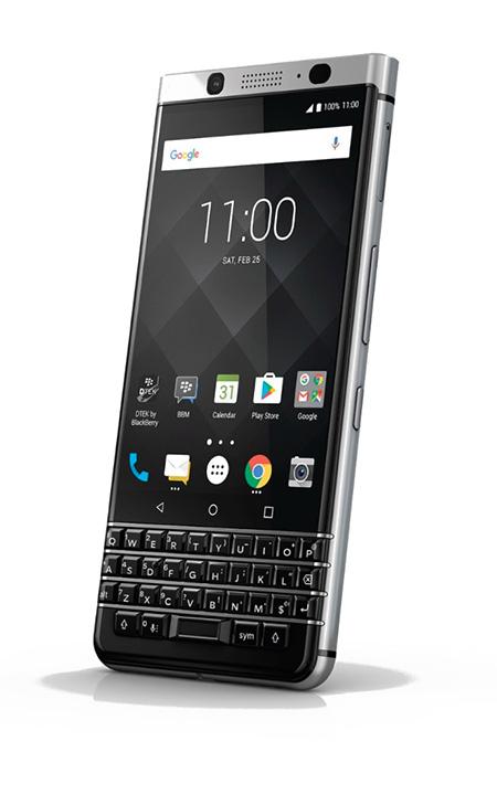 BlackBerry KEYone en Telcel México - pantalla y teclado QWERTY