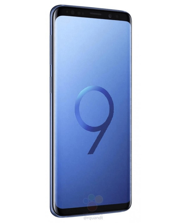 Samsung Galaxy S9 render filtrado color negro