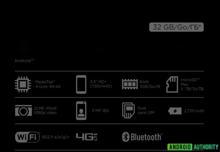 HTC Desire 12 especificaciones en caja se venta