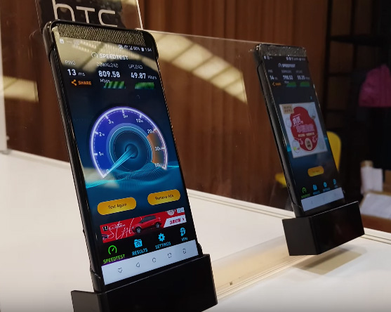 "HTC U12 codename ""Imagine"" en test de velocidad red LTE+"