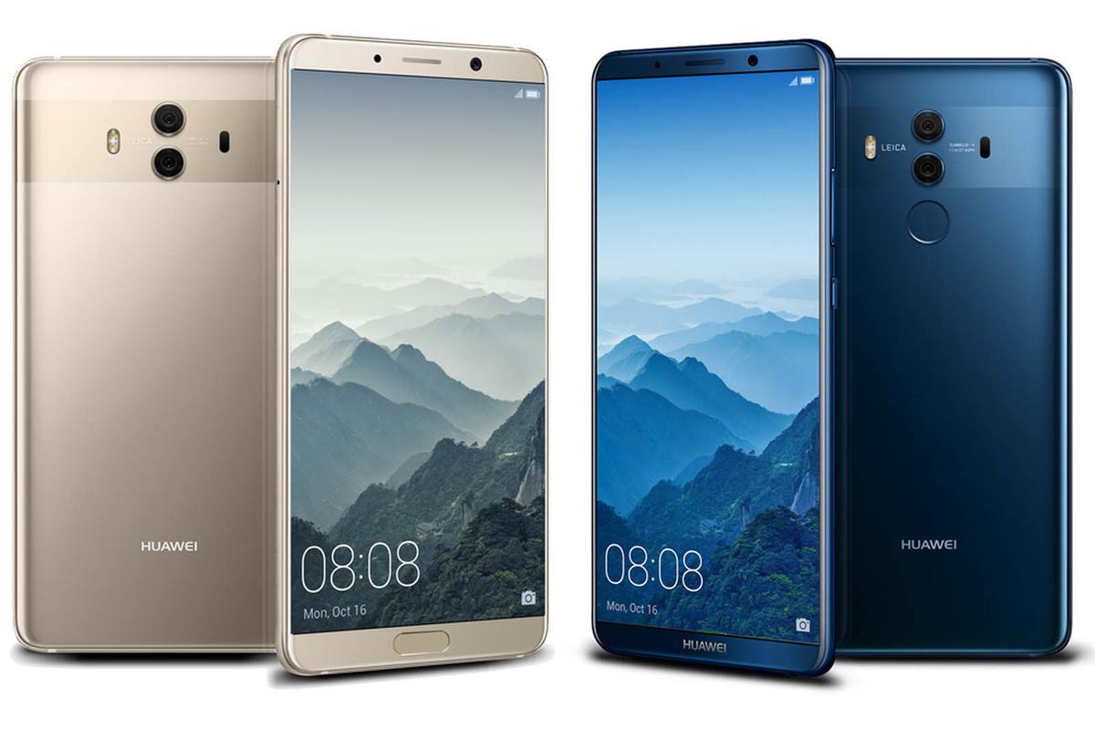 Huawei Mate 10 Pro con 128 GB y 6 GB en RAM colores