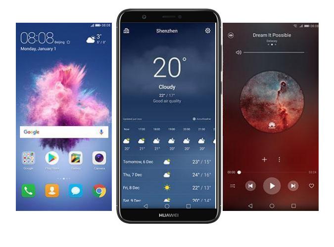 Huawei P Smart para México FIG-LX3 con Telcel - Android 8 Oreo con EMUI 8.0