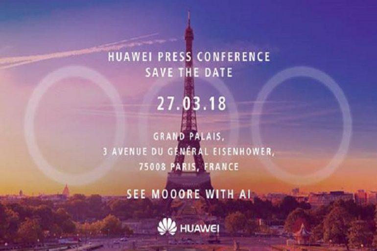 Huawei P20 invitación triple cámara