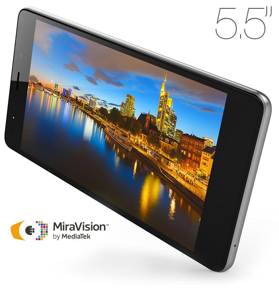 "M4Tel Serie R Ever SS4457-R en Telcel - Pantalla de 5.5"" Miravision by Mediatek"