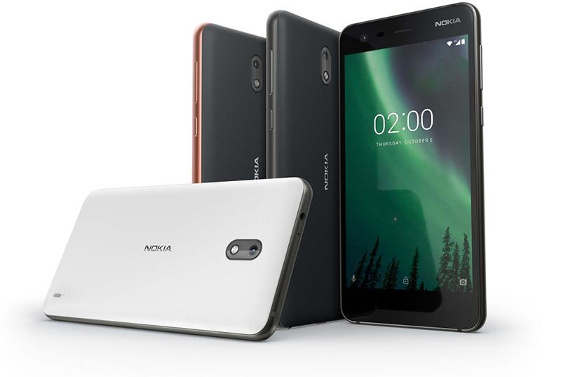 Nokia 2 pantalla y cámara posterior