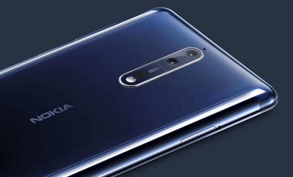 Nokia 8 con cámara Carl Zeiss