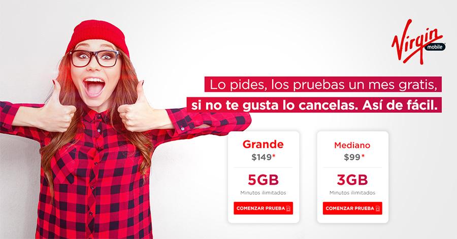 Virgin Mobile prueba gratis el servicio por 30 días