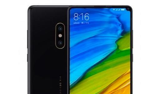 Xiaomi MI Mix 2S cámara y pantalla completa