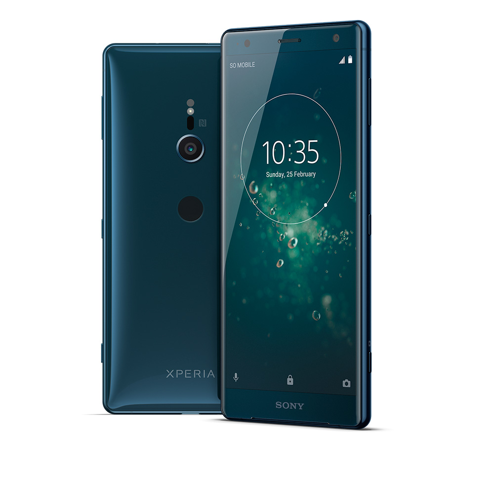 Sony Xperia XZ2 color verde profundo o Deep Green
