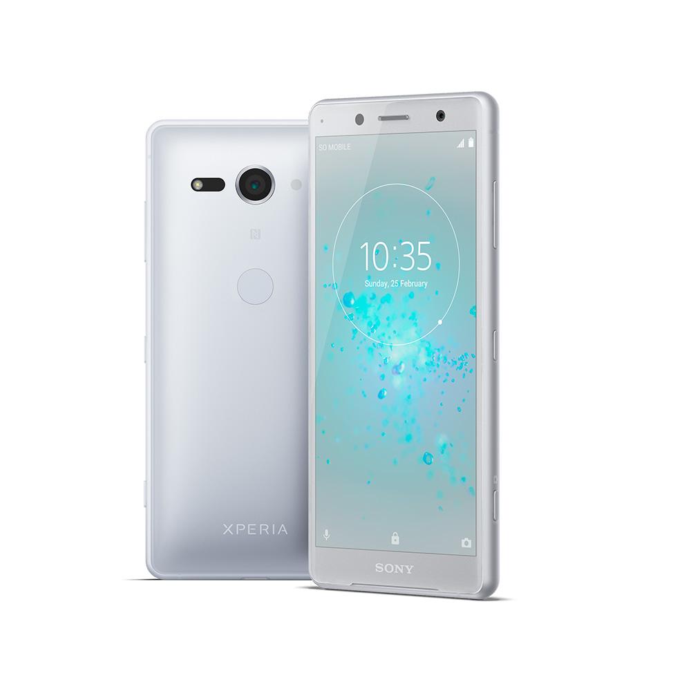 Sony Xperia XZ2 Compact color plata líquido o Silver Liquid