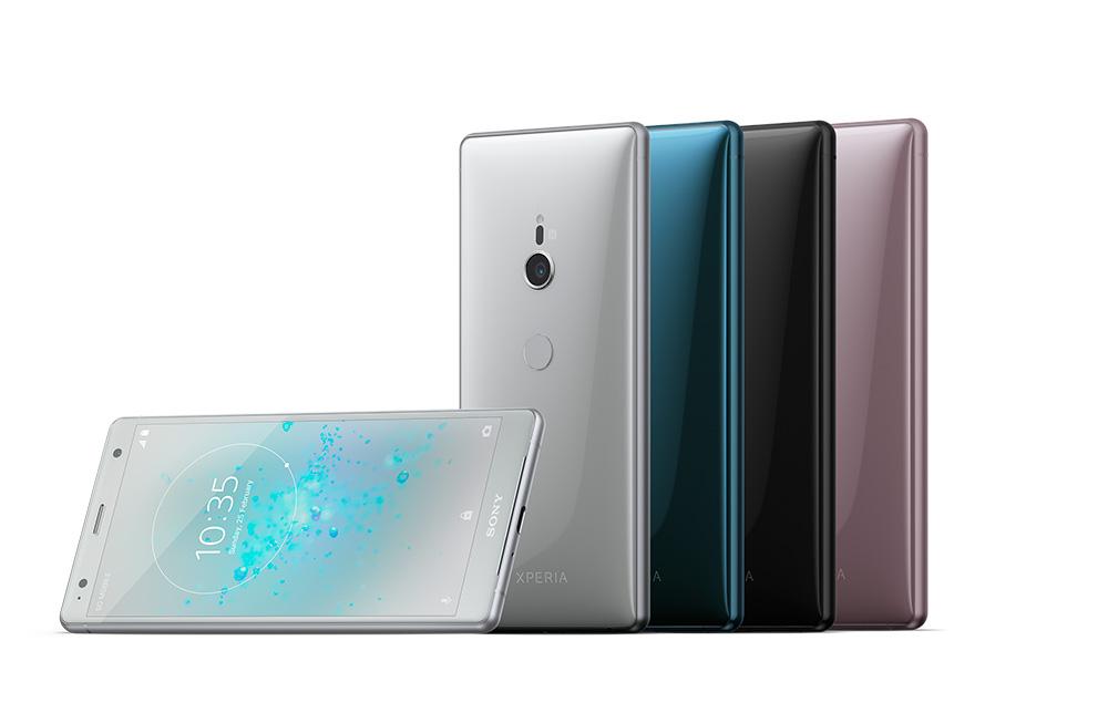 Sony Xperia XZ2 gama de colores