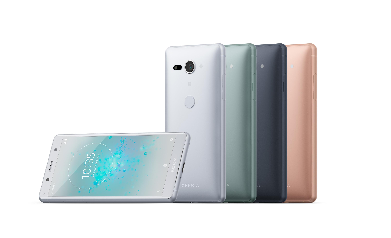 Sony Xperia XZ2 Compact gama de colores