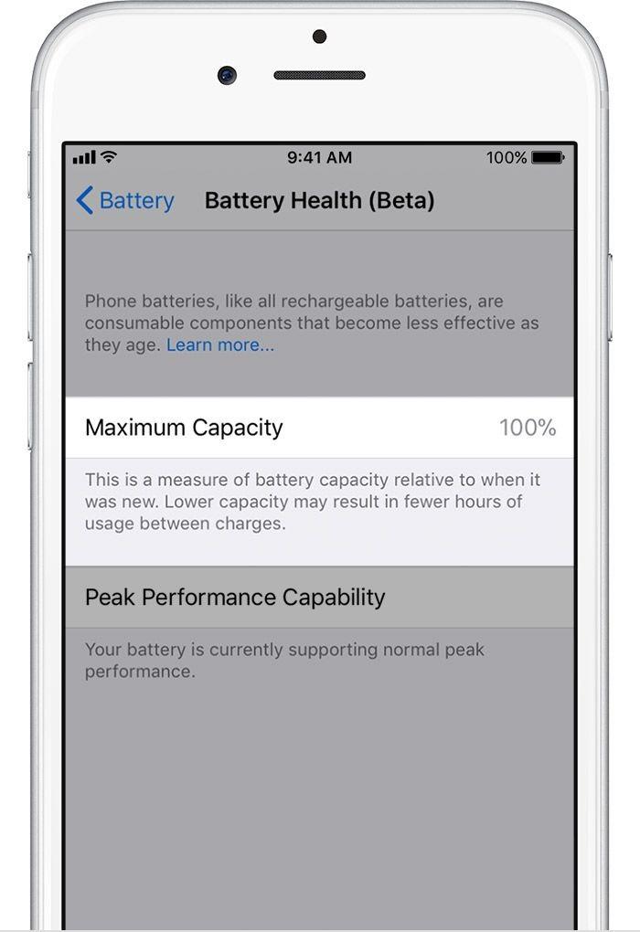 Gestor de batería iPhone