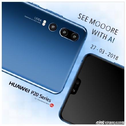 Huawei P20 series el 27 de marzo del 2018