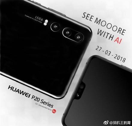 Huawei P20 series el 27 de marzo del 2018 color negroHuawei P20 series el 27 de marzo del 2018 color negro