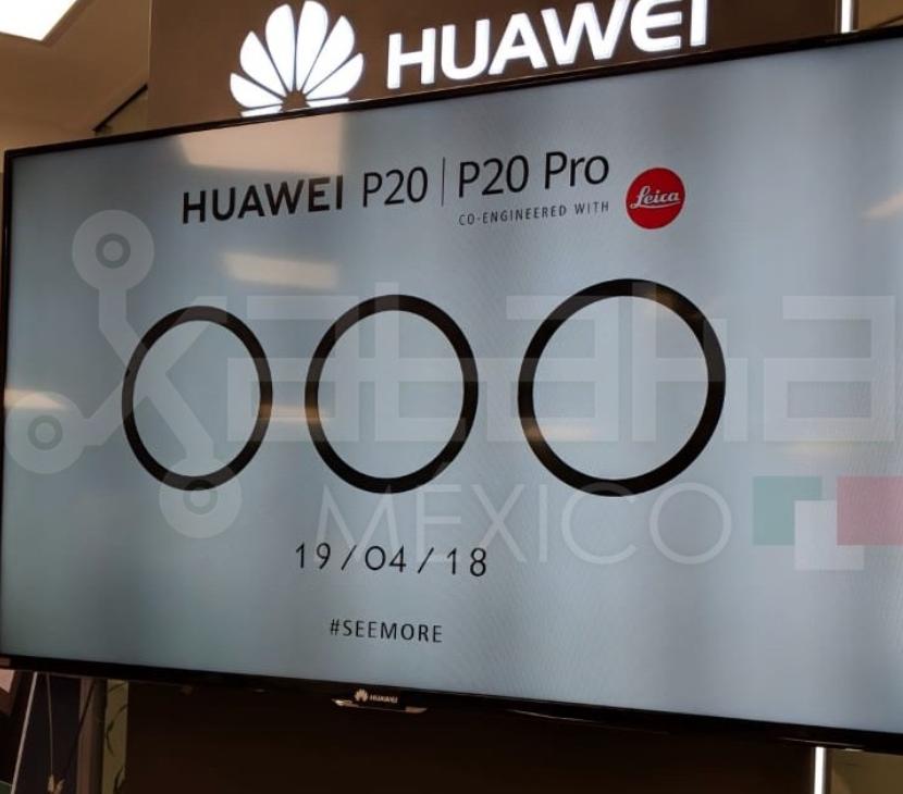 Huawei P20 y P20 Pro anuncio
