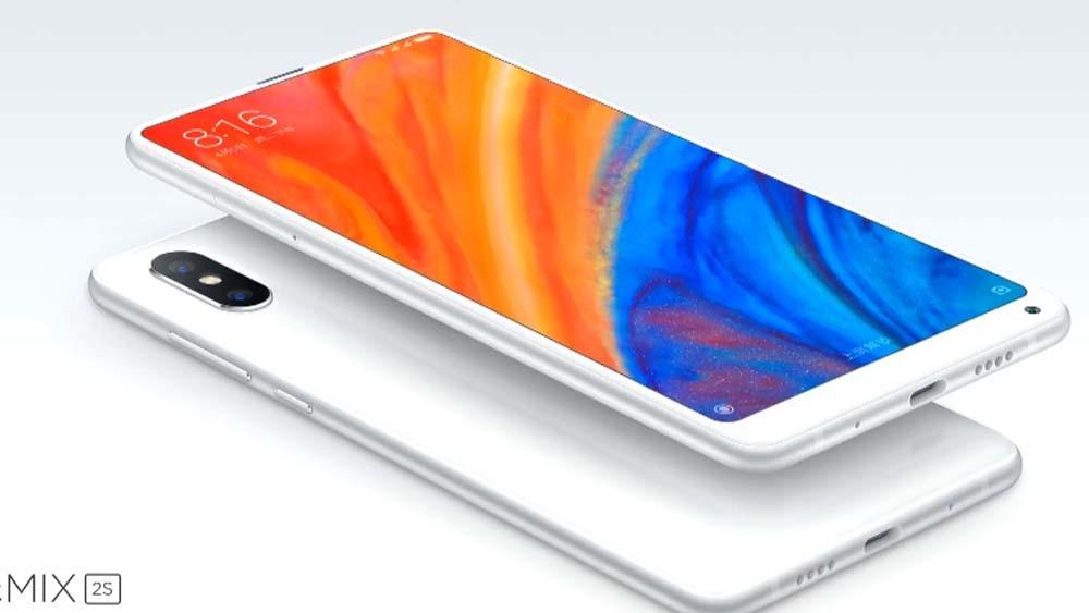 Xiaomi Mi Mix 2S delante y atrás