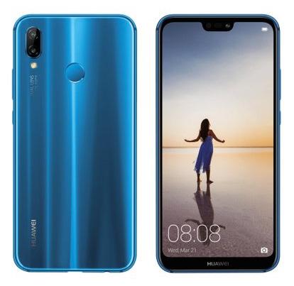 Huawei P20 Lite oficial color azul