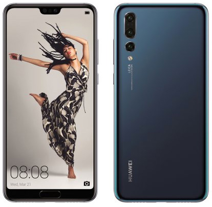 Huawei P20 Pro oficial color negro