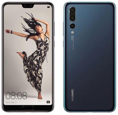 Huawei P20 Pro oficial color negro