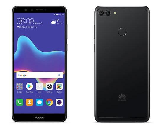 Huawei Y9 2018 pantalla y cámara posterior