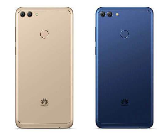 Huawei Y9 2018 cámara posterior y dos colores