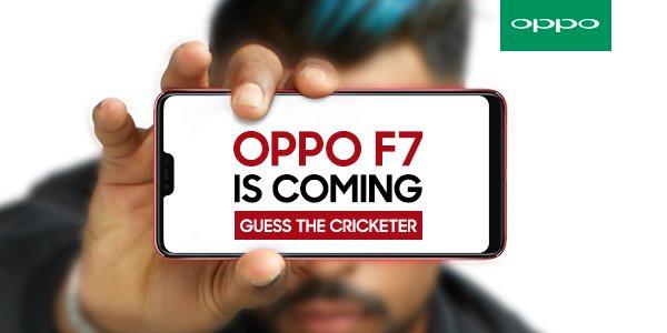 Oppo F4 teaser anuncio