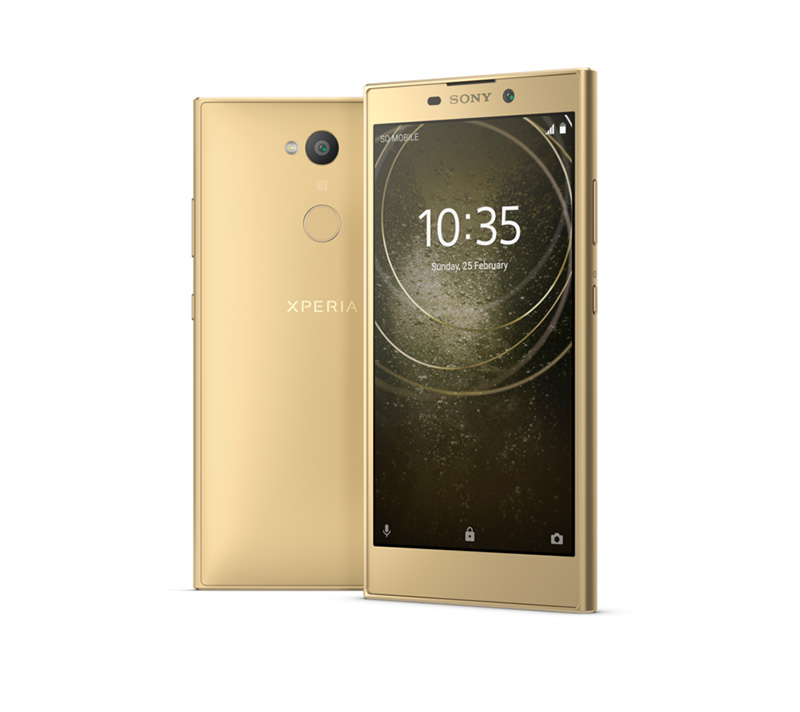 Sony Xperia L2 color dorado