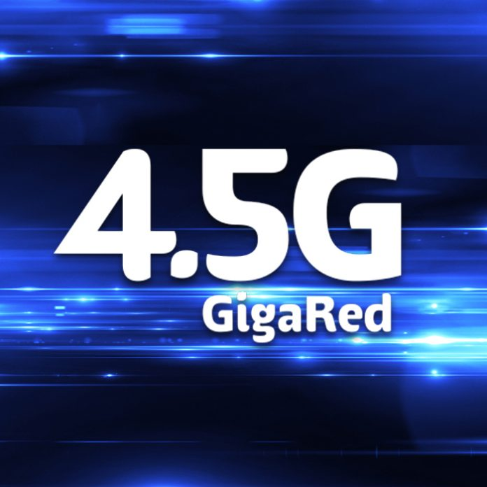 Telcel GigaRed 4.5G LTE
