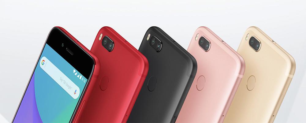 Xiaomi Mi A1 con Android One colores