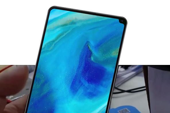 Xiaomi Mi Mix 2s render no oficial con notch en la esquina